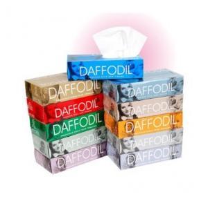 Daffodil 2 Ply Tissue Paper, 100 Pulls, 20 x 20 cm