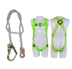 Heapro HI02 Full Body Harness With Single Lanyard With Eco Scaffolding Hook