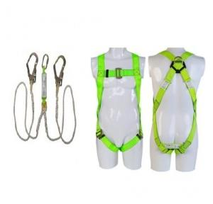 Heapro HI01 Full Body Harness With Double Lanyard With Eco Scaffolding Hook