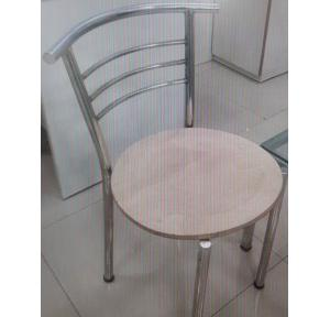 SS Chair Grade 202, Seating Platform 16 Inch, Pipe: 1 Inch, Height:18 Inch