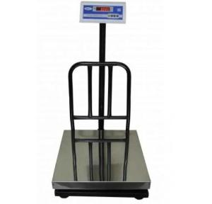 Weighing Machine with Platform, 20x20 Inch, Battery Back up 20 Hrs, Capacity - 200 Kg