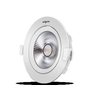 Wipro COB Downlight 9W Warm White, Model-110927
