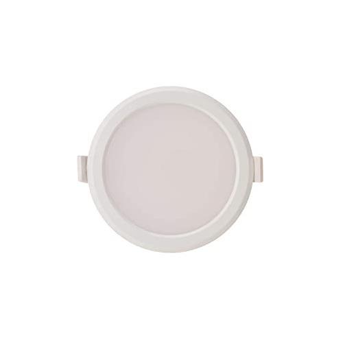 Syska LED Round Surface Panel Mounted Light, 12 Watt, Color 3000 to 3500K