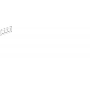 Honeywell MK EVO 6 Module Front Plate 6M White EW106WHI