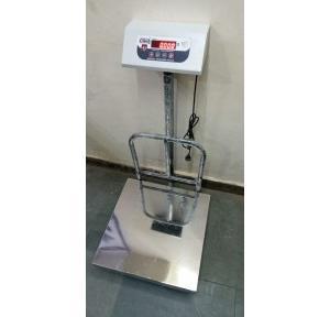 Gtech Electronic Weighing Machine, Capacity 150 kg & Platform Size - 500 x 500mm