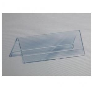 Acrylic Menu Tag Holder, Thickness- 3 mm, Size-120x55 mm