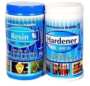 Araldite Standard Epoxy Adhesive (Resin XIN100 1 kg + Hardener XIN900 800 g) 1.8 kg