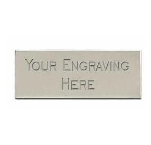 Aluminium Engraving Plate, Thickness - 0.5 mm to 0.75 mm, Length : 100 mm, Breadth : 25 to 30 mm