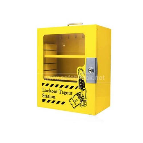 Steel Multipurpose Lockout Station, Size : 16(H) x 14(W) x 6(D) Inch With Clear Fascia, Model - ES - LTS - 6 C