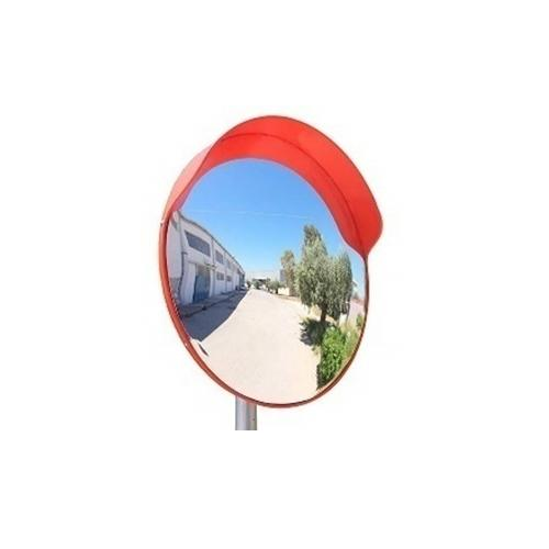 Convex Mirror 24 Inch With Convex Mirror Stand, Height : 5 Feet, SS 202