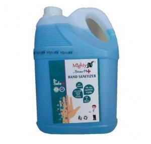 Mighty Advance Plus Hand Sanitizer Liquid Isopropyl Alcohol 70%, 5 Ltr