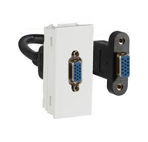 Crabtree Verona VGA 1 M Socket for Data Transmission, ACVKXXW062