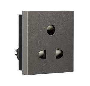Crabtree Signia 6 A 1 M 2 Pin Socket, ACWKPXG062
