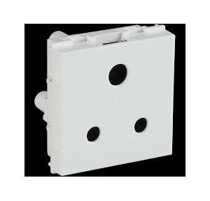 Crabtree Signia 6 A 1 M 2 Pin Socket, ACWKSXW062
