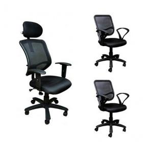 Combo 016 Black Office Chair