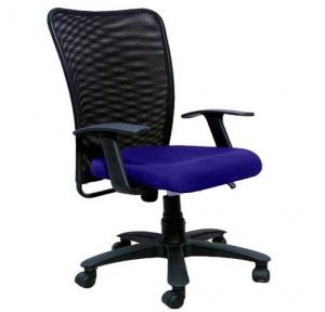 2003 Black And Blue Office Chair