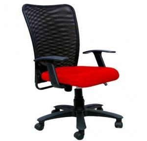2002 Black And Red Office Chair