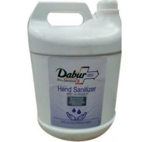 Dabur Hand sanitizer 70-80% Alcohol, 5Ltr