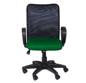 98 Black And Green Office Chair