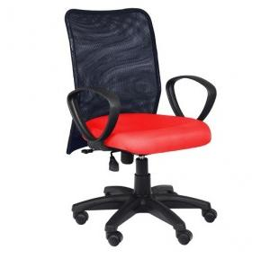 94 Black And Red Office Chair