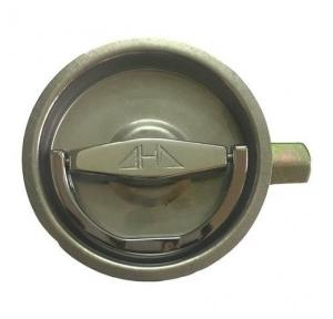 AHD Fire Hose Cabinet Lock Stainless Steel Round Type