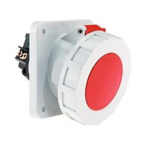 Neptune 63 A 5 Pin Panel Mounting Industrial Plug & Socket Water Tight IP-67, 129 & 3124