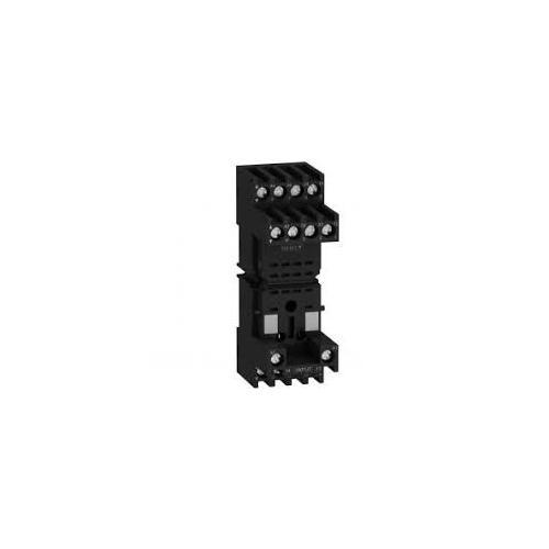 Schneider Socket For Miniature Relay Zelio RXZ With Separate Contact Connectors, RXZE2S111M
