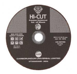 Hicut Reinforced Cut-Off Wheel 180x3 mm