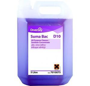 Diversey Suma Bac D10 Detergent Disinfectant, 1 Litre