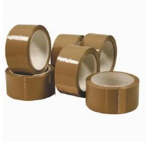 Brown Bopp Tape, Size: 75 mm x 50 m