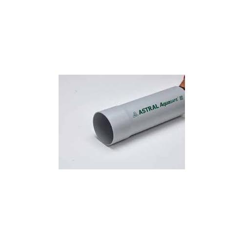 Astral Aquasafe PVC 4 Inch Pipe, Pressure  2.5 kgf/cm2, M081250309, 1 Feet
