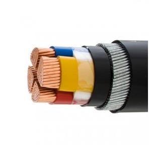 Polycab 25 Sqmm 4 Core PVC Insulated Industrial Flexible Cable, 1 Mtr
