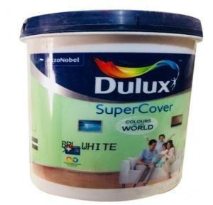 Dulux Plastic Paint White, 1 Litre