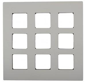 Schneider Opale 6M Grid & 6M Cover Plate White X0706 With 6 Switch X1101WH