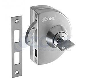Ozone Glass Door Lock Set, OPL-4A/4B-N-S STD SSS