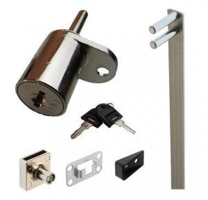 Pedestal Lock Kit (Lock, Bar & Accessories)