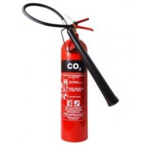 Refilling of Fire Extinguisher Co2 2kg Without HP Testing