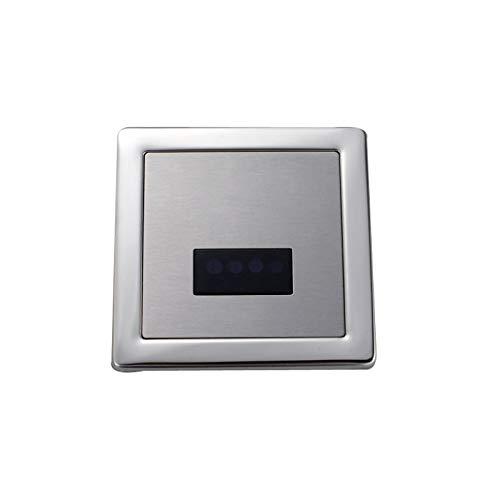 Bath Guru High Quality Automatic Urinal Flush Sensor (Silver, Chrome)