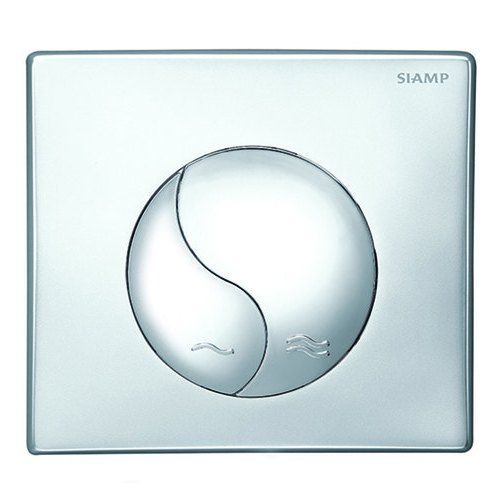 SIAMP WC Flush Cover Plate With Back Concealed Plate