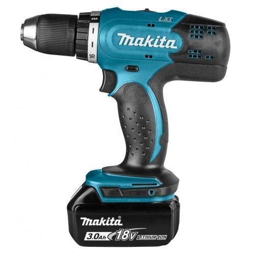 Makita Cordless Driver Drill DHP483RFE, Battery 02 Nos 3Ah 18V,