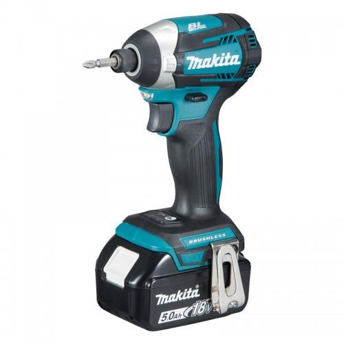 Makita LXT Brushless Impact Driver, DTD154RFE, 18V