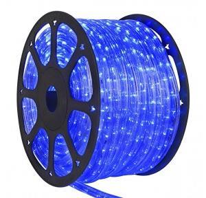 Moonlight LED Strip Rope Light With Adapter, Blue, 110V, 12 Watt