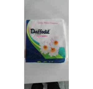 Daffodil Velvet Napkin