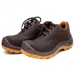 Hillson Z+2 Brown Composite Toe Safety Shoes, Size: 7