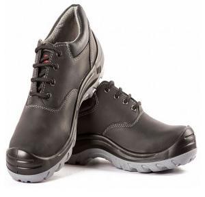 Hillson Z+2 Black Composite Toe Safety Shoes, Size: 6