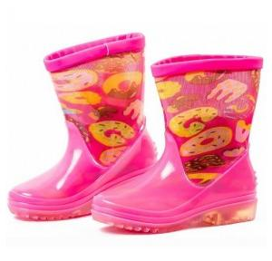 Hillson Igloo Pink Printed Boots, Size: 21
