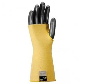 Midas Kevlar Cut Resistant Yellow Safety Sleeve, 14 Inch
