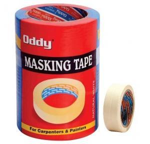 Oddy MT-24-30 Masking Self Adhesive Tape, Size: 24 mm x 30 m