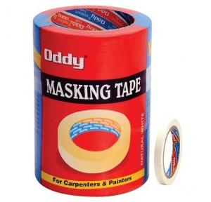Oddy MT-12-30 Masking Self Adhesive Tape, Size: 12 mm x 30 m