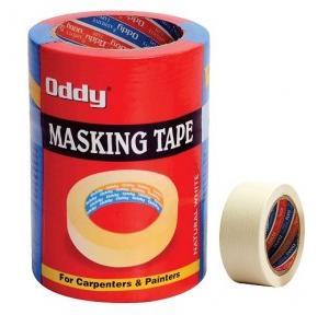 Oddy MT-72-20 Masking Self Adhesive Tape, Size: 72 mm x 20 m